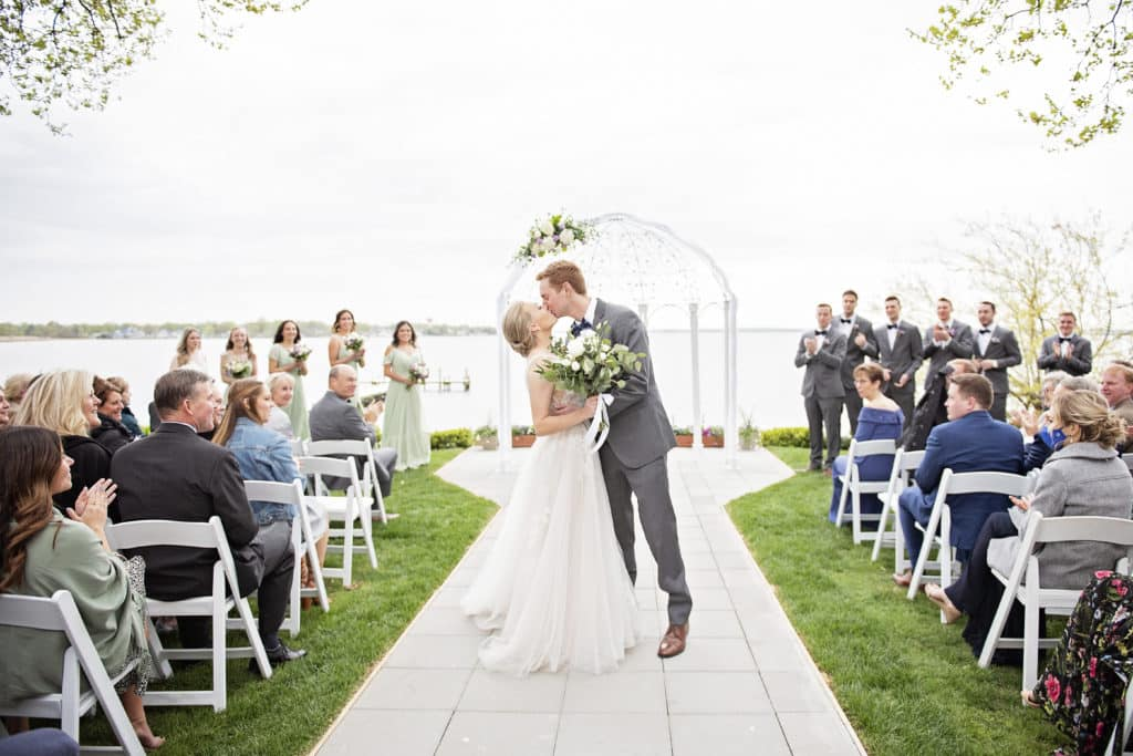 waterfront wedding venue near me